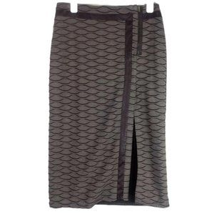 ANAC Designed by Kimi Contrast Textured Maxi Skirt